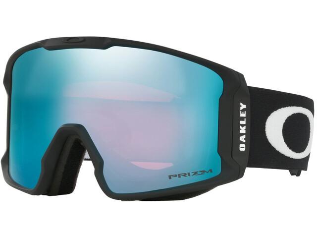 Oakley Line Miner Lunettes de ski Homme, matte black/prizm snow sapphire iridium